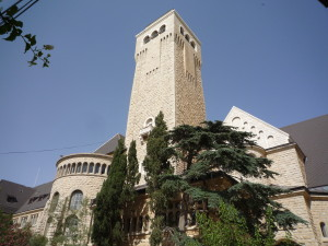 Augusta-Viktoria/Himmelfahrtskirche, Jerusalem